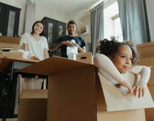 A family affair; how your children can help in the moving process